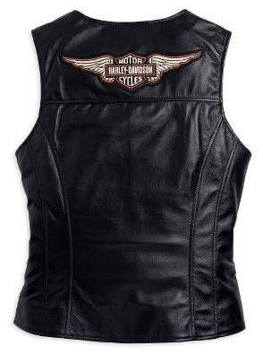 Harley Davidson Clothing For Women Clearance | Harley-Davidson Leather Vest : Harley Davidson Jackets, Vintage Mens ...