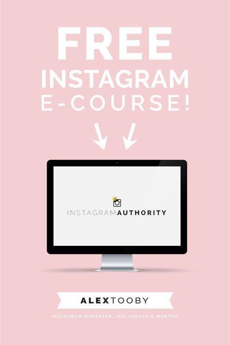 Free Instagram Course   alextooby.com
