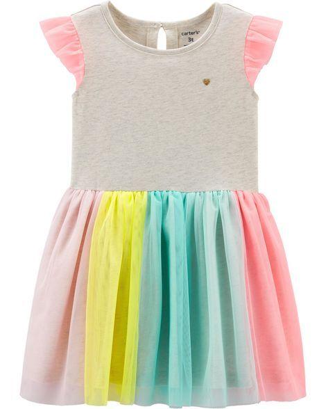50d75750a579d Rainbow Tutu Dress in 2019 | Spring | Summer '19 | Rainbow tutu ...