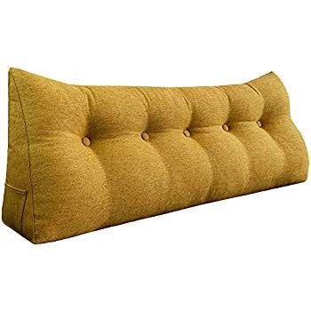 Wedge Pillow Bolster Headboard Cushion