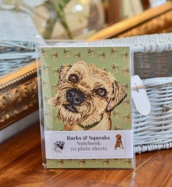 Border Terrier Notebook 8 From Www Twowoofs Co Uk Border