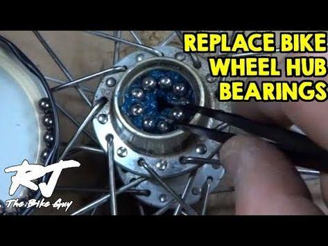How To Replace Bike Wheel Hub Bearings Youtube Em 2020 Com Imagens