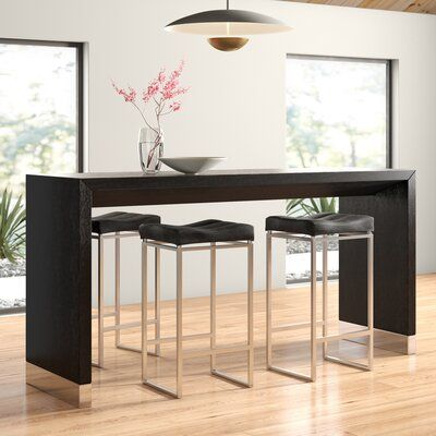 Zoe Counter Height Dining Table Allmodern In 2020 Counter Height Dining Room Tables Counter Height Dining Table Counter Height Dining Sets