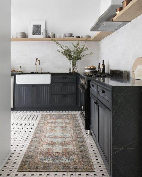 Onderdonk Brick Area Rug & Reviews | Birch Lane