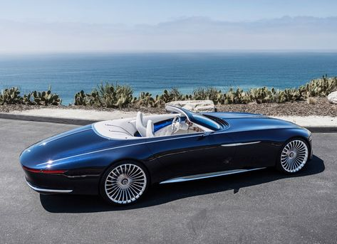 Mercedes Benz Maybach Vision 6 Cabriolet 2018 On Behance Mercedes