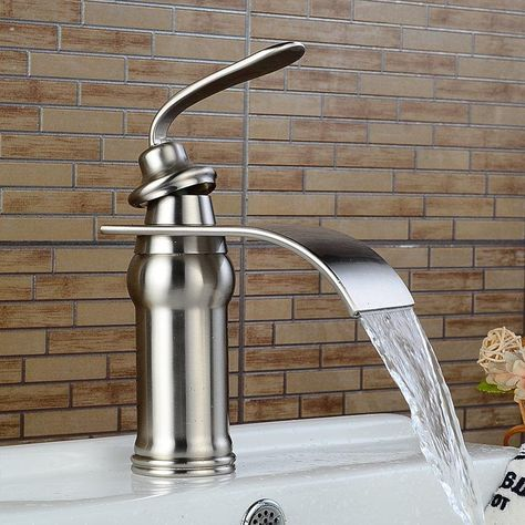 Waterfall Faucet Brass