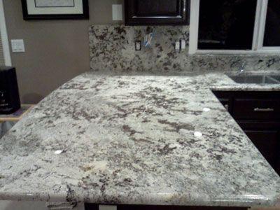Alaskan White Granite | Alaskan White 3cm Granite Material. Profile:  Half Bullnose Edge, Full ... | Home Decor | Pinterest | White Granite,  Granite And ...