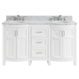 Roth Moravia White Double Sink Vanity