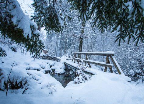 Pin Von Auf Winter Naturbilder Schnee Und