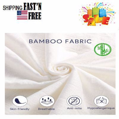Advertisement Cover Waterproof Mattress Protector Twin Size