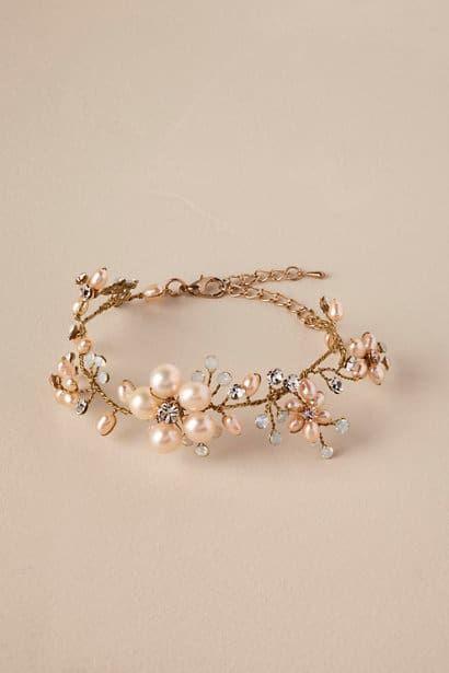 Cherry Blossom Wedding Ideas And Inspiration Dress For The Wedding Wedding Bracelet Bridal Jewelry Wedding Accessories