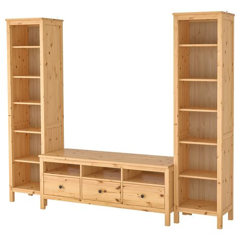Ikea Tv Meubel Grenen.Hemnes Tv Mobel Kombination Hellbraun Ikea Osterreich