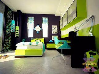 الوان دهانات وأفكار ديكور غرف أطفال مودرن وكلاسيك للاطفال2021 Bedroom Design Bedroom Paint Colors Bedroom Green