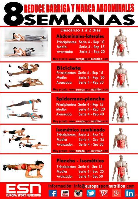 ejercicios para bajar de peso y marcar el cuerpo