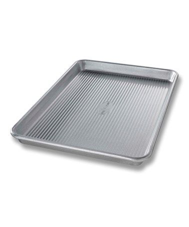 This 10 X 15 Nonstick Jelly Roll Pan Is Perfect Zulilyfinds Jelly Roll Pan Half Sheet Pan Sheet Pan