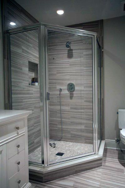 Design Ideas For Corner Shower In Master Bathroon Cornershowerstalls Shower Cabin Bathroom Remodel Shower Small Bathroom