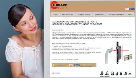 Changement du0027un cylindre de porte Rendez-vous sur wwwthirard