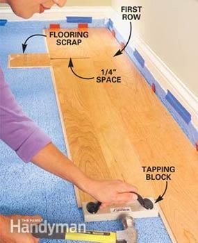 Floor Refinishing Projects For Your Home Installing Laminate