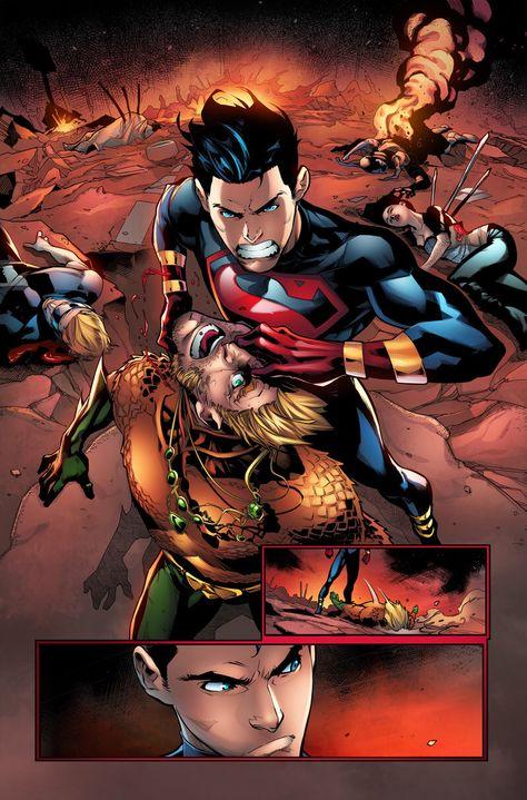Superboy Color Test by jadecks on DeviantArt