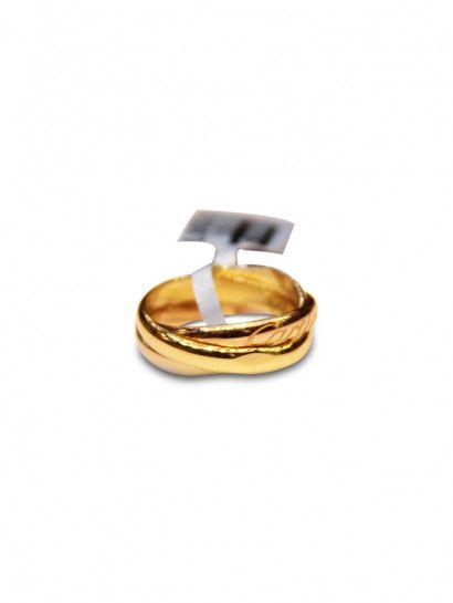 دبل زفاف ذهب عيار 18 دبلة ذهب كارتية عيار 18 تتميز بشكل الموجة Engagement Rings Engagement Rings