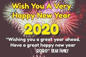 Happy New Year 2020 Google Search Happy New Year Status Wishes For Friends Happy New Year Wishes
