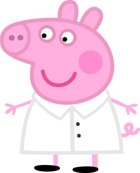 Peppa Pig Cozinheira 01 Imagens Png Peppa Pig Porquinha Peppa