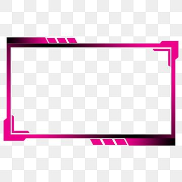 Magenta Black Twitch Screen Overlay Face Streaming Twitch Design Png Transparent Clipart Image And Psd File For Free Download Overlays Prints For Sale Black Social Media Icons