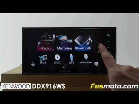 Kenwood DDX916WS 7 inch Built-in Bluetooth Android Auto ... on