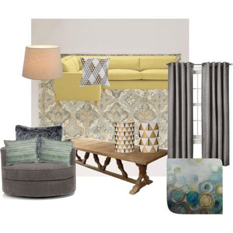 on Polyvore featuring interior, interiors, interior design, home, home decor, interior decorating, Linea, LINLEY, World Market and Bloomingville