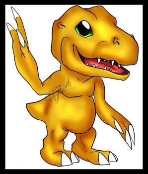 How To Draw Agumon From Digimon Step By Anime Characters Japanese Manga FREE Online Drawing Tutorial Added Daw