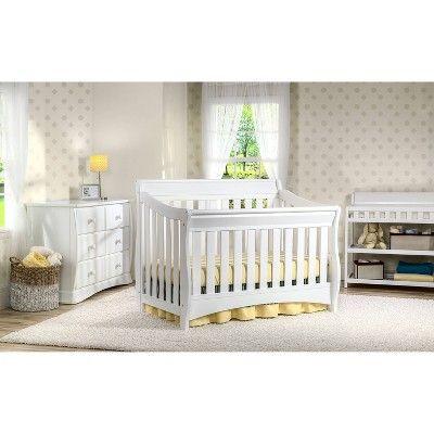 Delta Children Bentley S Series 4 In 1 Convertible Crib In 2020 Nursery Furniture Sets Cribs Delta Children