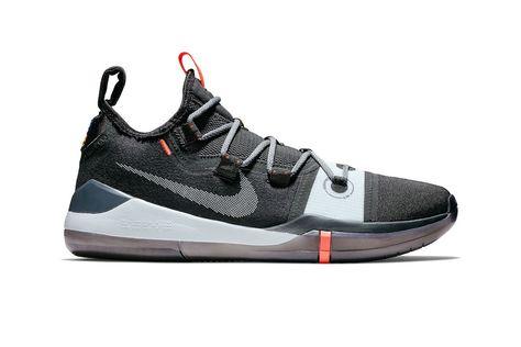 super popular 94625 6ae02 Nike Kobe AD 2018 New Colorway Release Date Kobe Bryant black white grey  silver gray gunmetal infrared red orange