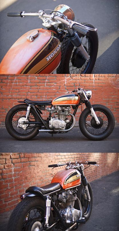Honda CB450 Cafe Racer – Petters blogg