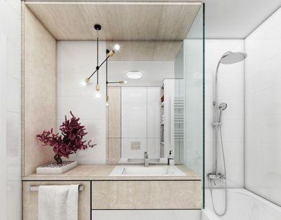 Jasna Nowoczesna łazienka Home Decor In 2019 Bathroom