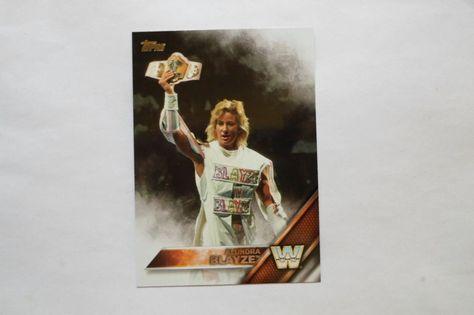 2016 TOPPS WWE BASE CARD LEGEND ALUNDRA BLAYZE # 50