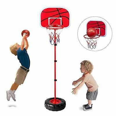 Toddler Basketball Hoop Stand Wall 2 In 1 Basketball Set Kids Portable Height Ad In 2020 Toddler Basketball Hoop Toddler Basketball Cool Toys