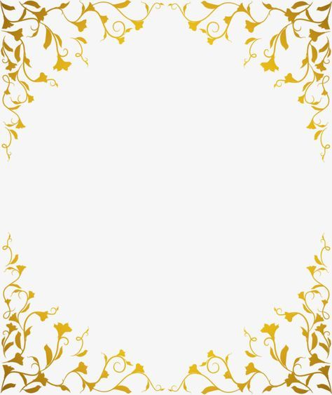 اطار ذهبي Gold Wallpaper Background Gold Picture Frames Poster Background Design