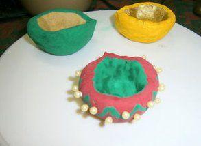 Handmade Decorative Diya Oil Lamps Handmade Decorations Oil Lamps Handmade