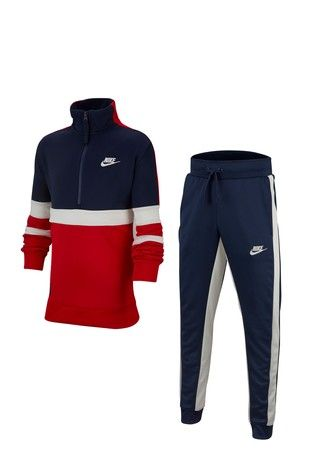 f54a81375d Red/Navy Nike Air Colourblock Tracksuit | Isaac Florida in 2019 ...