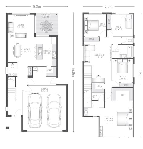 Two storey home designs apg homes floor plans pinterest house architecture and dream house plans