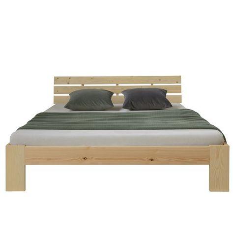 Towcester Solid Wood Bed Frame Metro Lane Size European Kingsize
