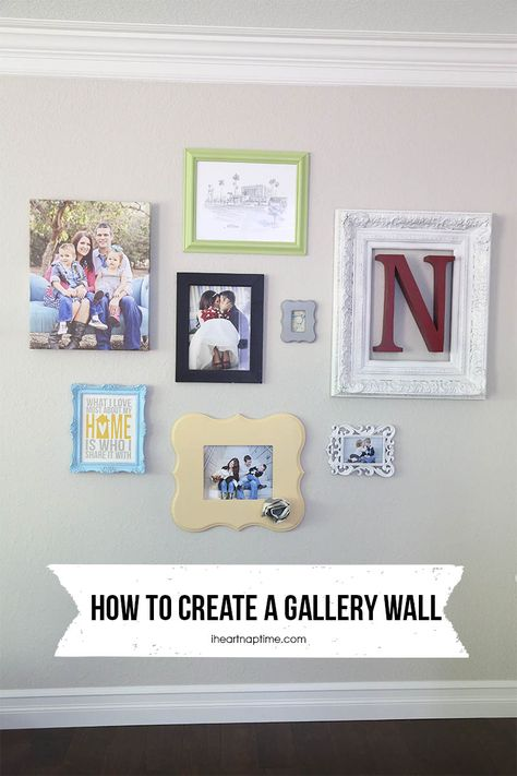 Love this project by Jamielyn in which she incorporated Shutterfly's canvas prints to create a beautiful gallery wall. #sflydecor