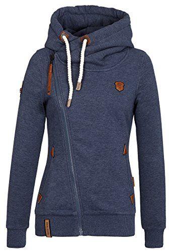 Naketano Dreisisch Euro Swansisch Minut W fleece jacket blue heather