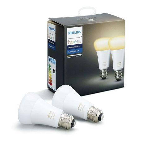Philips Hue White Ambiance 2 X 9 5w E27 Di Philips Hue Led Lampe