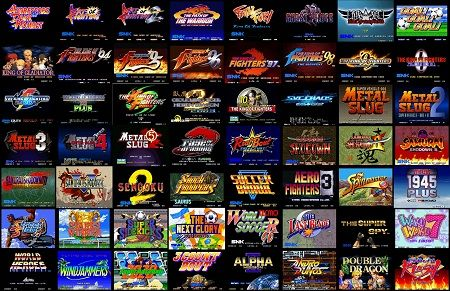 Neo Geo Fullset Roms [Full Collection] Download | pixel art/old