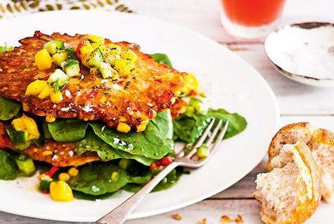Unser beliebtes Rezept für Express-Fritters mit Mangosalsa und mehr als 65.000 weitere kostenlose Rezepte auf LECKER.de.