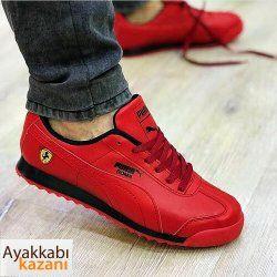 Puma Ferrari Spor Ayakkabi Kirmizi Ayakkabi Erkek Nike Air Max Ayakkabilar