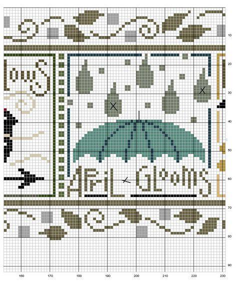 Schema punto croce Bordo-snapper-3