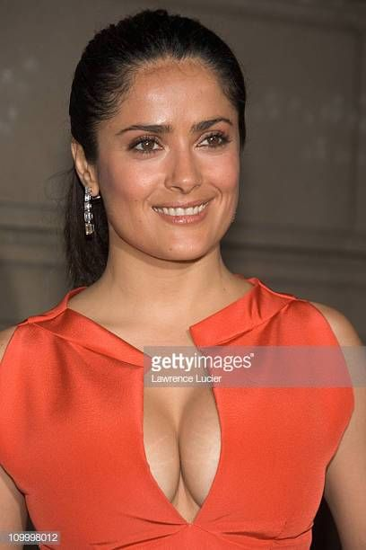 Salma Hayek during Cartier and Interview Magazine Celebrate The Cartier Charity Love Bracelet at The Cartier Mansion in New York City, New York, United States. Get premium, high resolution news photos at Getty Images