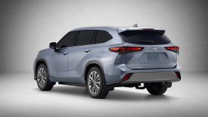Pin Em Toyota Highlamder 2020
